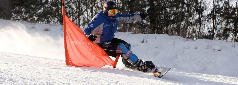 GS Snowboard Training in Korea